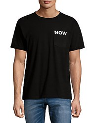 Ezekiel Graphic Cotton Tee Black
