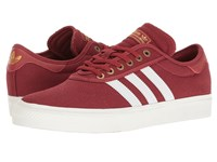 Adidas Adi Ease Premiere Adv Mystery Red Crystal White Gold Metallic Men's Skate Shoes