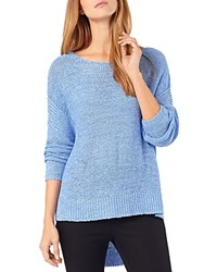 Phase Eight Tazia High Low Sweater Chambray