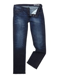 Duck And Cover Boxsir Straight Jeans Blue