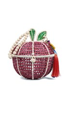 Mercedes Salazar Manzana Tropical Bag Red
