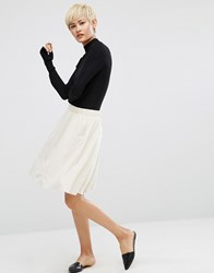 Minimum Lucette Skirt Birch Cream