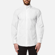 Vivienne Westwood Man Men's Striped Krall Long Sleeve Shirt White
