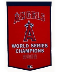 Winning Streak Los Angeles Angels Of Anaheim Dynasty Banner Team Color