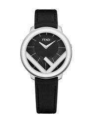 Fendi Run Away 28Mm Watch Black