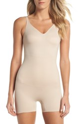 Tc Mid Thigh Shaper Bodysuit Nude