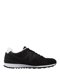 New Balance Wl 696 Suede Lace Up Sneakers Navy Blue