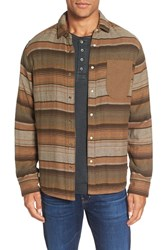 Jeremiah Men's Lansing Reversible Twill Flannel Shirt