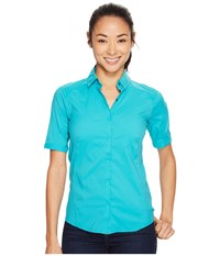 Arc'teryx Fernie Short Sleeve Shirt Castaway Women's Clothing Green
