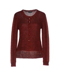 Hack Cardigans Brick Red