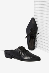 Nasty Gal Shakuhachi Your Point Is Leather Flat