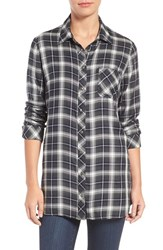 Kut From The Kloth Women's Kazu Plaid Tunic Shirt