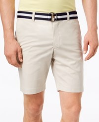 Club Room Men's Classic Fit Stretch Shorts Created For Macy's Marble