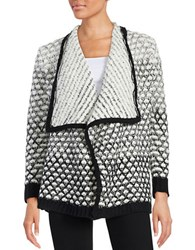 Romeo And Juliet Couture Knit Open Front Cardigan