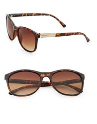 Sam Edelman 57Mm Square Sunglasses Brown