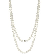 Annoushka Classic 8Mm Pearl And 18Ct White Gold Necklace