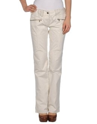 Calvin Klein Jeans Casual Pants Ivory