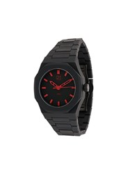 D1 Milano Polycarbon 40.5Mm Watch Black