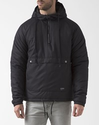 Ezekiel Black Two Colour Trenton Windbreaker With Hood