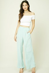 Forever 21 Woven Palazzo Pants