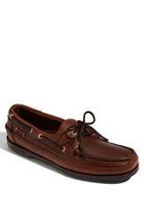 Sebago Men's 'Schooner' Boat Shoe Brown