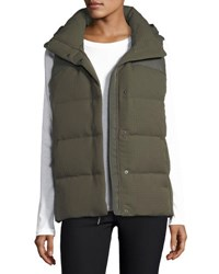 The North Face Novelty Nupste Quilted Down Vest New Taupe Green