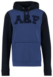 Abercrombie And Fitch Core Hoodie Dark Blue Black