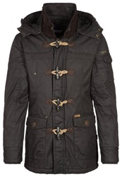 Khujo Hale Winter Jacket Dark Mud Dark Brown