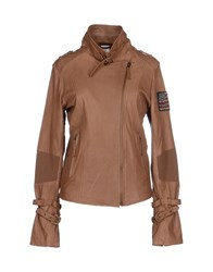 True Religion Coats And Jackets Jackets Women Brown