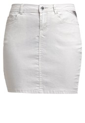 Morgan Jila Mini Skirt Argente Silver