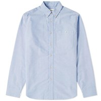 A Kind Of Guise Button Down Oxford Shirt Blue