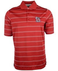 Antigua Men's Short Sleeve St. Louis Cardinals Polo Red