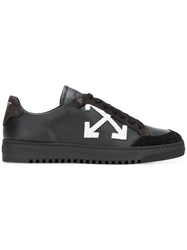 Off White Arrows Sneakers Black