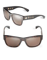 Versace 59Mm Square Sunglasses Ve4319 Havana