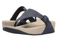 Fitflop The Skinny Canvas Midnight Navy Women's Sandals Blue