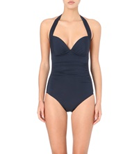 Jets By Jessika Allen Journey Halterneck Swimsuit Ink