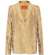 For Restless Sleepers Jacquard Shirt Gold
