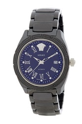 Versace Unisex Dv One Ceramic Bracelet Watch Black