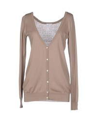 Gold Case Knitwear Cardigans Women Khaki