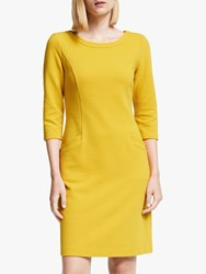 Boden Jasmine Ottoman Dress Saffron