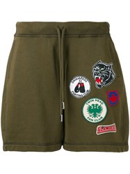 Dsquared2 Patches Track Shorts Green