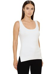Akris Ribbed Stretch Jersey Tank Top