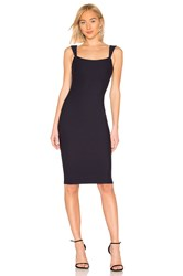 By The Way Riane Midi Dress Navy