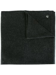 Z Zegna Knit Scarf Grey