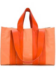 Corto Moltedo Large 'Costanza' Shoulder Bag Yellow Orange