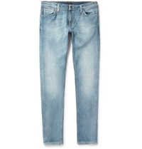 Nudie Jeans Skinny Lin Organic Stretch Denim Indigo
