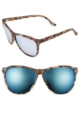 Electric Eyewear Women's Electric 'Encelia' 61Mm Retro Sunglasses Nude Tortoise Rose Sky Blue