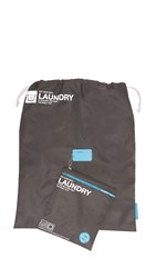 Flight 001 Go Clean Laundry Bag Charcoal