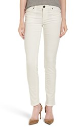 Kut From The Kloth Women's Diana Stretch Corduroy Skinny Pants New Ivory