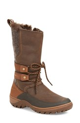 Merrell Women's Sylva Waterproof Tall Boot Brown Leather